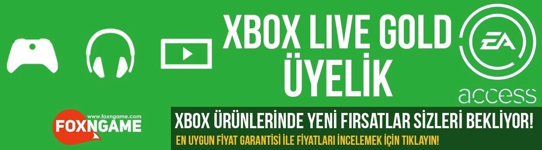 XBOX Live Gold Üyelik İndirimi Başladı!