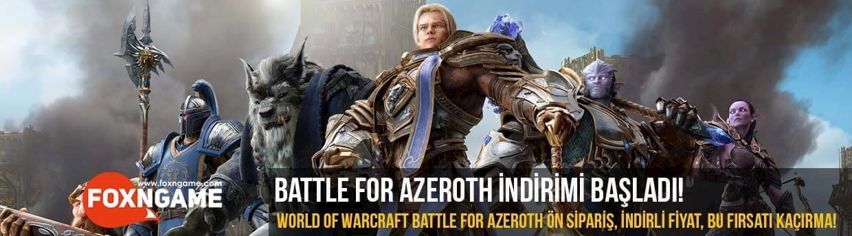 World of Warcraft Battle for Azeroth İndirimi Başladı!