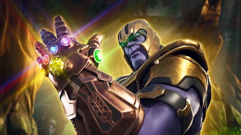 Fortnite Thanos modu, Infinity Gauntlet aktif