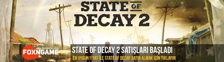 State of Decay 2 satışları başladı!