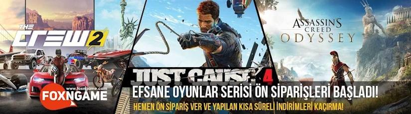 Just Cause 4, The Crew 2, Assassin's Creed Odyssey Ön Siparişleri Başladı