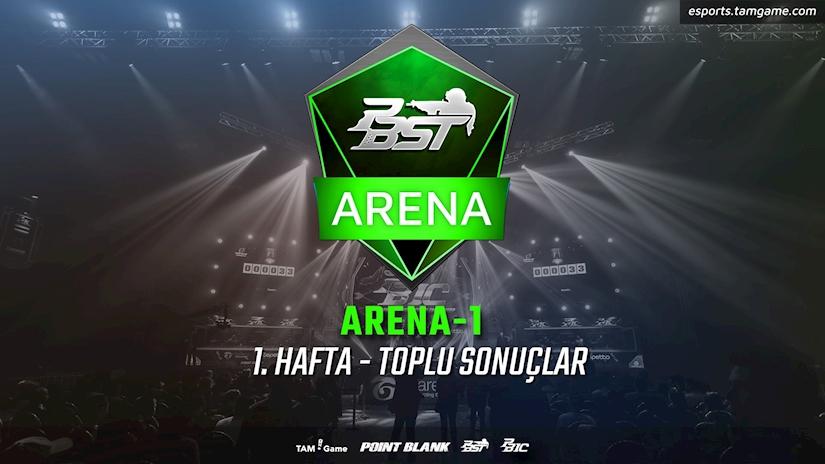 Point Blank Arena-1'de İlk Turlar Geride Kaldı
