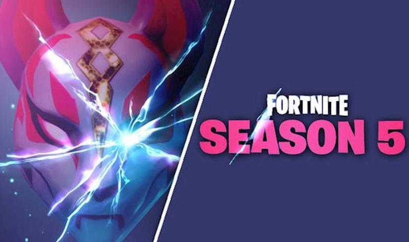 Fortnite Season 5 Fragmanı Yayınlandı ve Kitsune Maskesini Gösteriyor