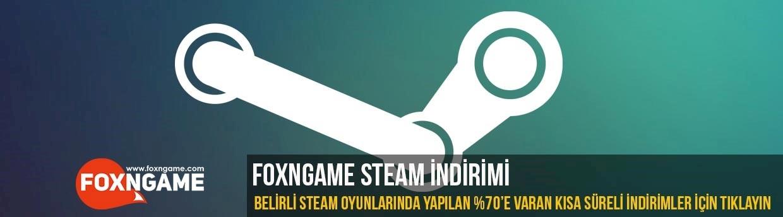 Foxngame Steam İndirimleri Devam Ediyor
