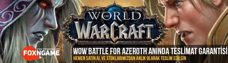 Battle for Azeroth Anında Teslimat Başladı!