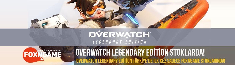 Overwatch Legendary Edition Türkiye'de İlk Kez Foxngame Stoklarında!