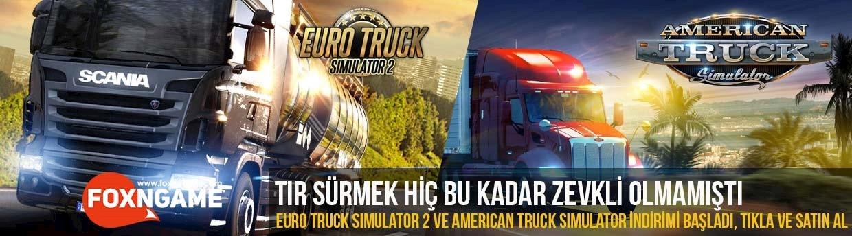 Euro Truck Simulator 2 ve American Truck Simulator İndirimi Başladı!