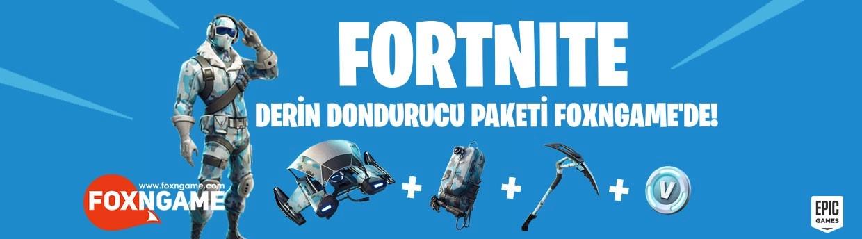 Fortnite Derin Dondurucu Paketi Foxngame'de!