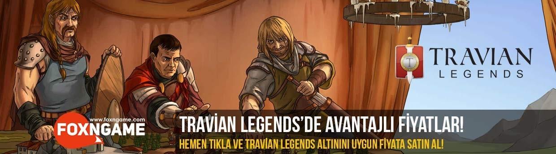 Travian Legends Altınları Foxngame'de Uygun Fiyat Garantisi İle!