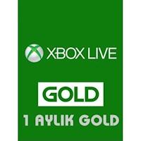 XBOX Live 1 Aylık Gold Üyelik