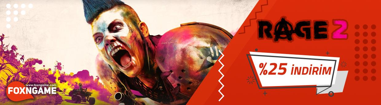Rage 2 %25 İndirimli Fiyatı İle Foxngame'de!