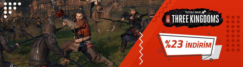 Total War: THREE KINGDOMS %23 İndirimli Fiyatı İle Foxngame'de!
