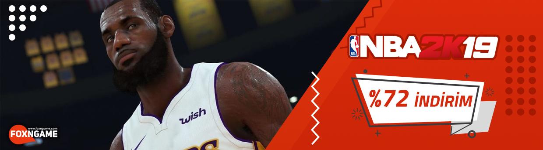 NBA 2K19 %72 İndirimli Fiyatı İle Foxngame'de!