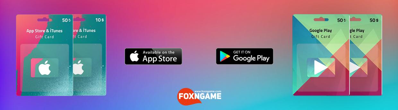 Google Play & Apple ITunes Gift uygun fiyat fırsatını kaçırma ve satın al!