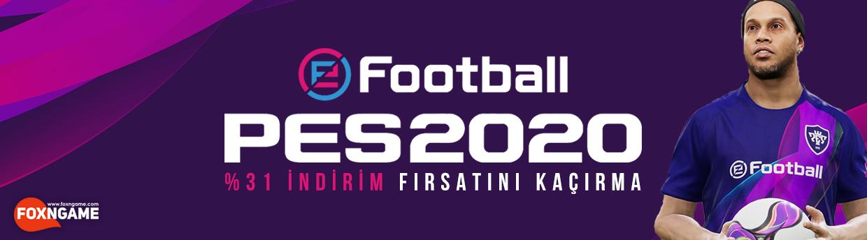 PES 2020 Foxngame İle İndirim Fırsatını Kaçırma!