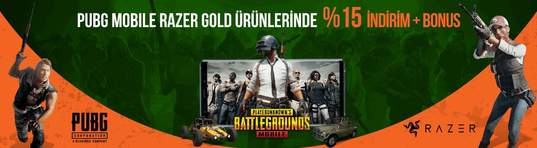 PUBG Mobile Razer Gold Ürünlerinde %15 İndirim