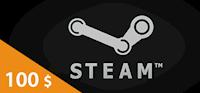 Steam Wallet Card 100 USD
