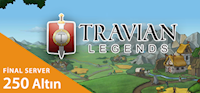 Travian Legends - 250 Altın ( Final Server )