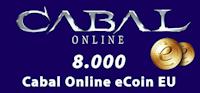 8.000 Cabal Online eCoin EU