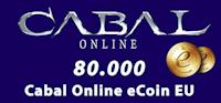 80.000 Cabal Online eCoin EU