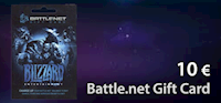 Battle.net 10 € Gift Card