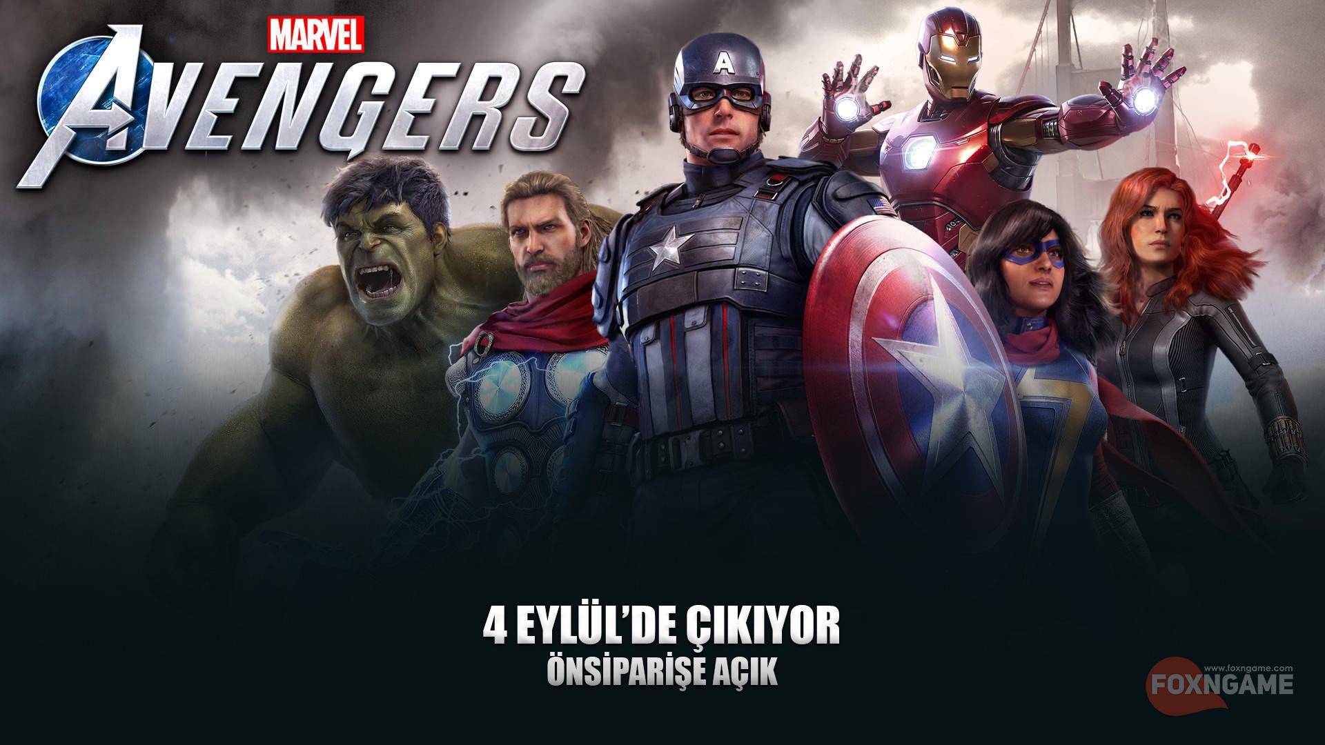 Marvel's Avengers Çıkıyor