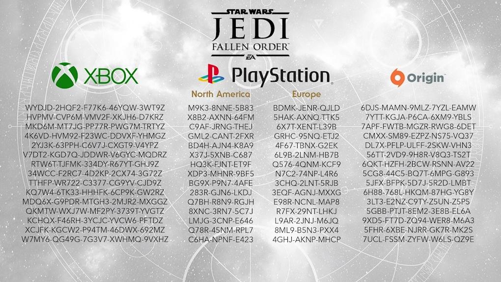 """EA Games Bedava """"Star Wars Jedi Fallen Order"""" Kodları Dağıttı!"""
