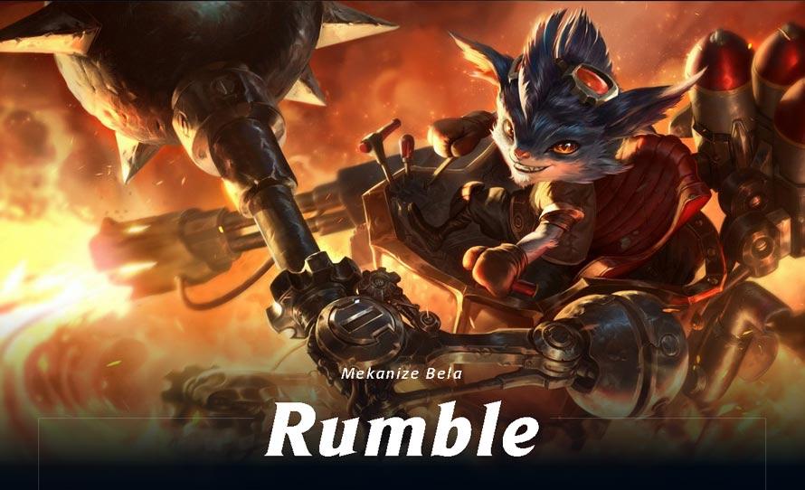 lol rumble orman seçimi