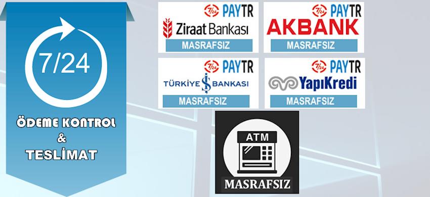 ATM Masrafsız Bankalar