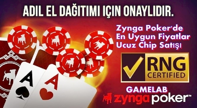 Zynga Poker En Ucuz Chip Satışı