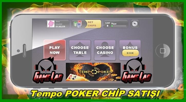 Chip satış ve chip satışı  ucuz tempo poker chip satın al