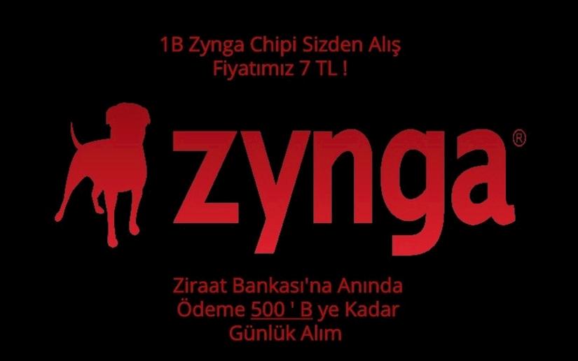 Zynga  Chip Alım