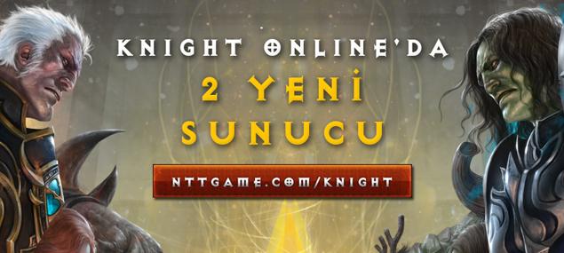 Knight Online yeni sunucu Akara ve Manes geliyor....
