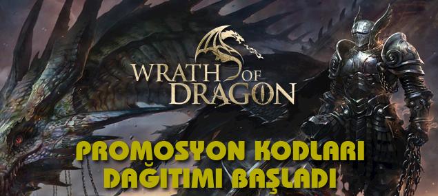 Wrath of Dragon promo kodları burada