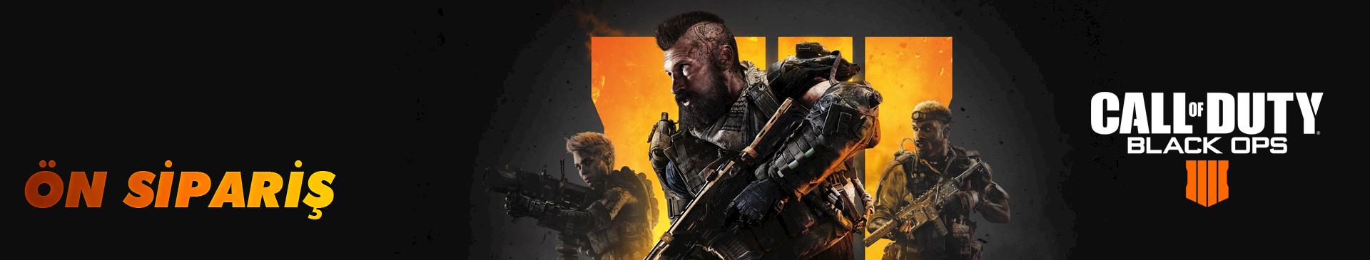 Call Of Duty Black Ops 4 hemen teslim