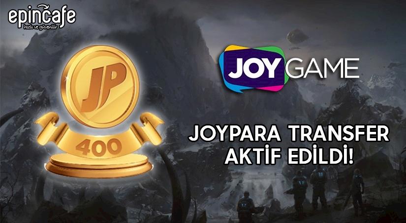 Joypara Transfer Aktif Edildi!