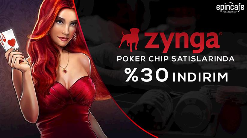 Zynga Poker Chip Satışında %30 İndirim