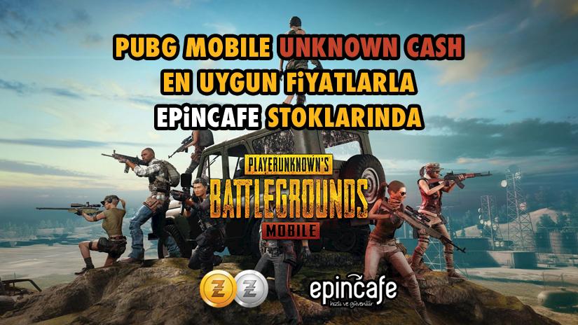 PUBG Mobile Unknown Cash Epin Kodu Epincafe Stoklarında
