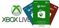 Xbox Live Hediye Kartı 25 TL