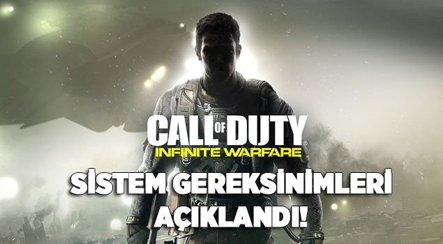 Call Of Duty: Infinite Warfare'in Sistem Gereksinimleri Duyuruldu
