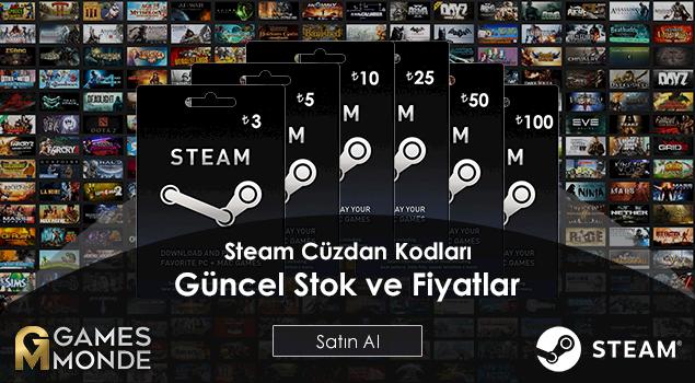 Steam Cüzdan Kollarında Stok ve Fiyatlar Güncellendi!