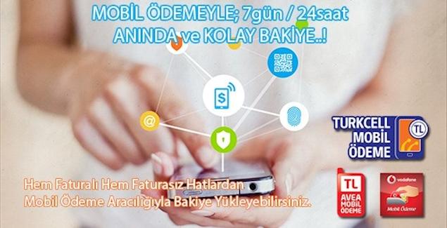 Mobil Ödeme Tekrar AKTİF EDİLMİŞTİR.