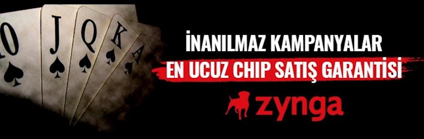 Ucuz Zynga  Poker Chip Fiyatları