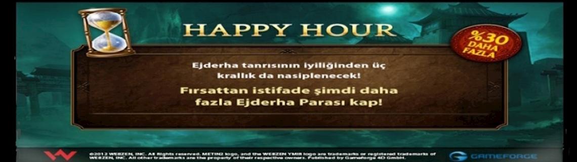 METİN2 HAPPY HOUR %30