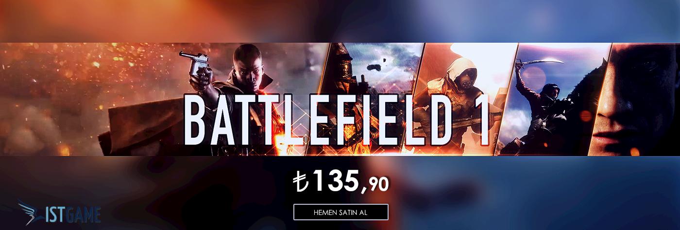 Battlefield 1 Yenilenen Fiyatıyla Stoklarımızda!