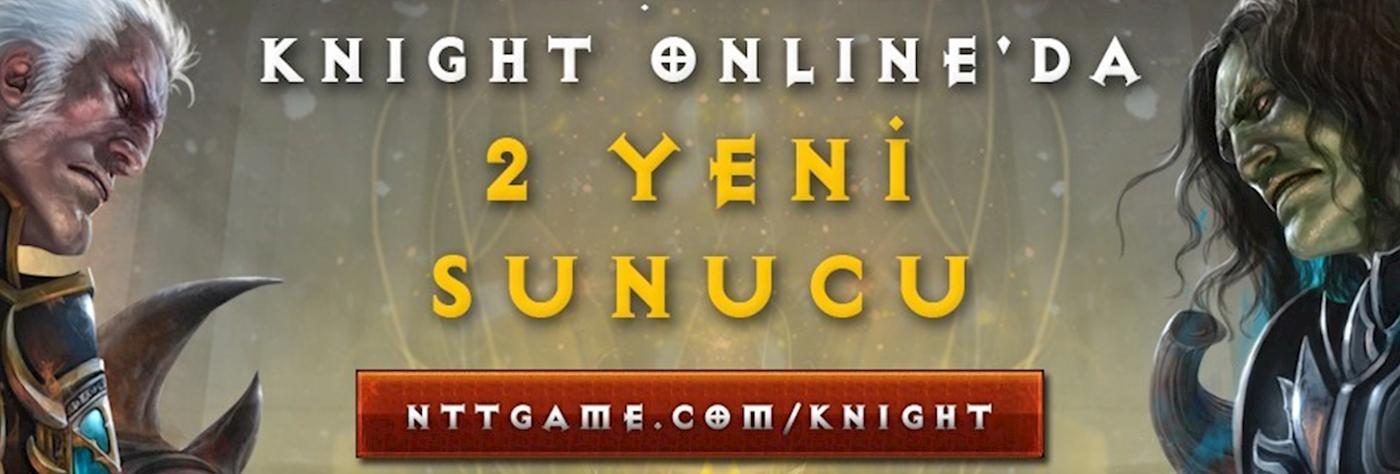 Knight Online'a 2 yeni sunucu