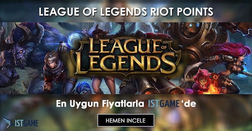 League of Legends Riot Points 'ler de İndirim!