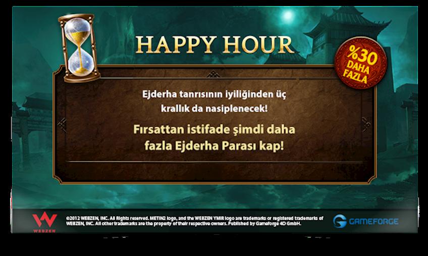 METİN2 HAPPY HOUR