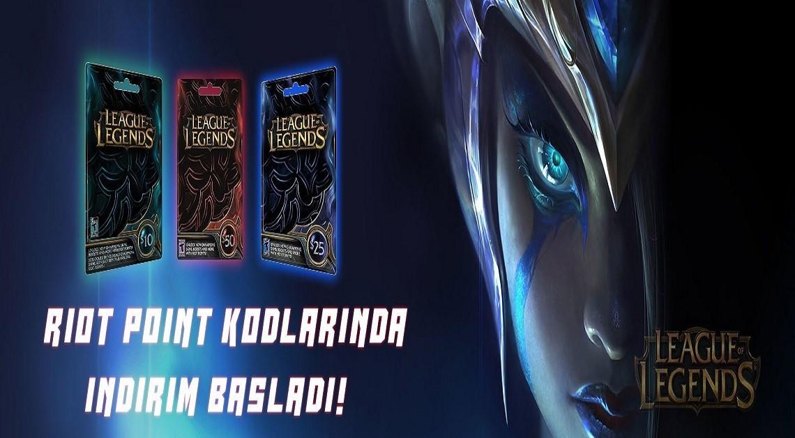 League Of Legends RP Fiyatlarında Şok İndirim!
