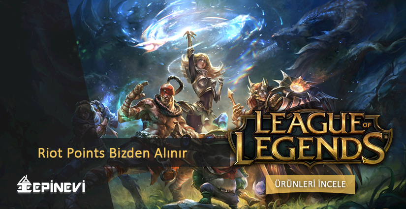 League of Legends, Riot Points Almanın Tam Zamanı.